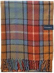 "The Tartan Blanket Co. Recycled Wool Blanket Buchanan Antique Tartan (59"" x"