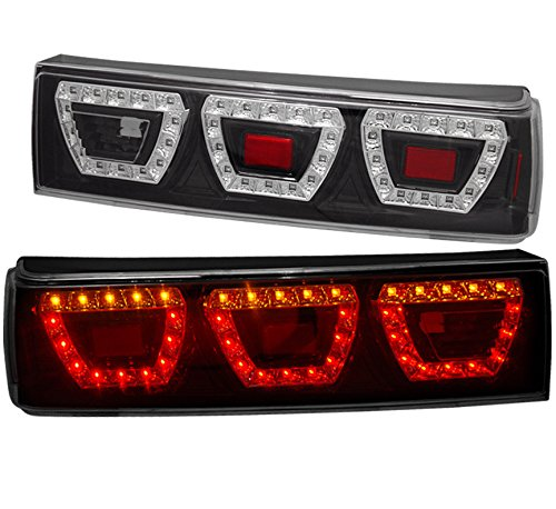 AJP Distributors LED Tail Light Lamp For Ford Mustang (Black)