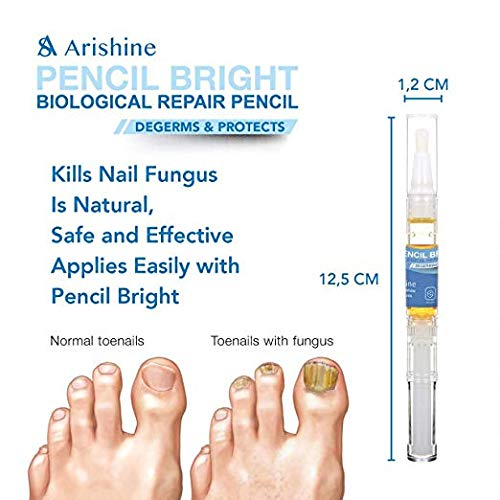 Arishine Fungus Treatment, Fungus Stop, Anti Fungus Nail Treatment, Effective Against Nail Fungus, Anti Fungal Nail Solution, Toenails and Fingernails Solution