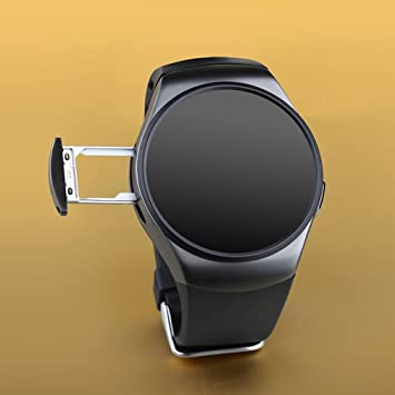 Buibao Bluetooth Smart Watch Phone KING-WEAR KW18 Sim&TF Card Heart Rate Smartwatch: Amazon.es: Electrónica