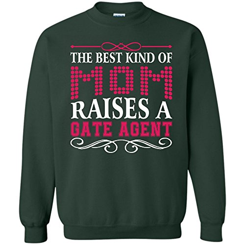 Gate Agent Mom T Shirt  Gift For Mom Sweatshirt  S Forest