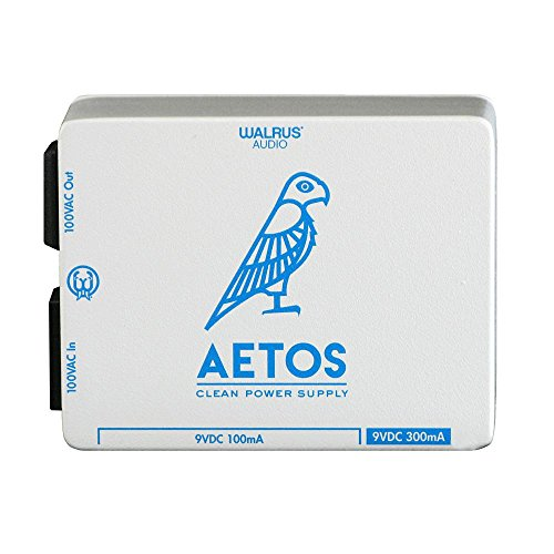 Walrus Audio Aetos 8 Output Power Supply, White/Blue Limited Edition Hanukkah Aetos ()