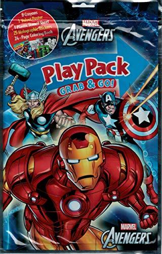 Bendon Publishing Avengers Party Supplies Playpack Activity Set (Each)