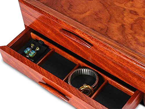 Prairie II Jewelry Box - 1 Drawer by Heartwood Creations (Image #4)