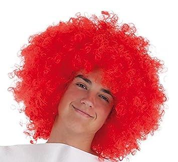 LLOPIS Peluca afro roja