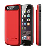 Battery Case for iPhone 8/7/6S/6 V-EWIGE 5500mAh Portable Extended Battery Charger for iPhone 6/6S/7/8 (4.7-inch) Power Charging Case …