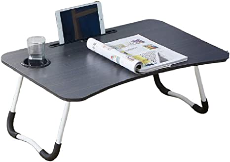 Mesa de cama para computadora portátil, escritorio portátil ...