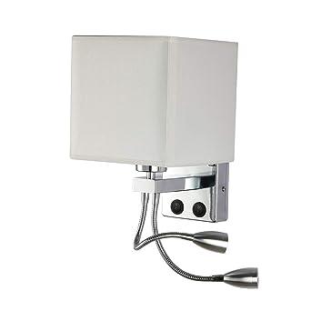 Cofemy - Aplique de mesilla de noche, LED, flexible, con brazo ...