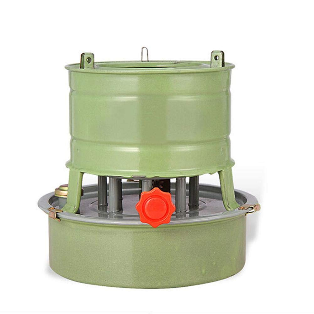 Luckycyc Kerosene Furnace,Camping Kerosene Furnace Windproof Stove Outdoor Supplies for Cooking Frying Braising Stewing, Green. by Luckycyc
