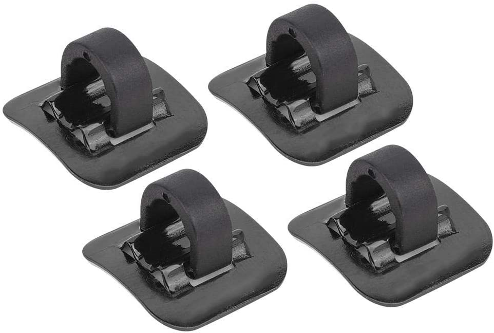 Details about  /10 X S-Clips For  Bicycle Cable Brake Gear Tidy Clip Buckle Guide Housing Hose