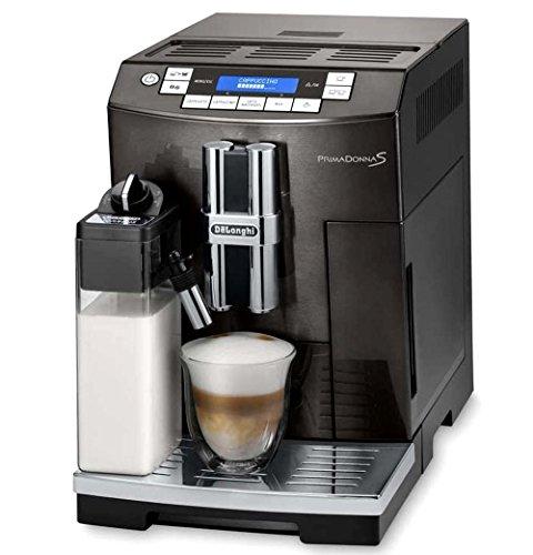 DeLonghi America ECAM28465B Prima Donna Fully Automatic Espresso Machine with Lattecrema System ...