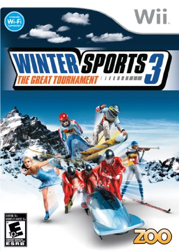 Winter Sports 3: The Great Tournament - Nintendo - And Alpine Ski Snowboard