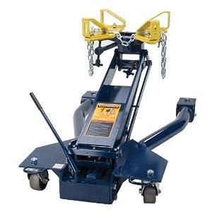 Hein-Werner HW93718 Blue Floor Transmission Jack - 1 Ton Capacity