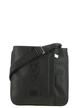 4710fa0524f4 Bag man with strap shoulder VERSACE JEANS item E1YQBB21 77229 LINEA  MACROLOGO DI  Amazon.co.uk  Clothing