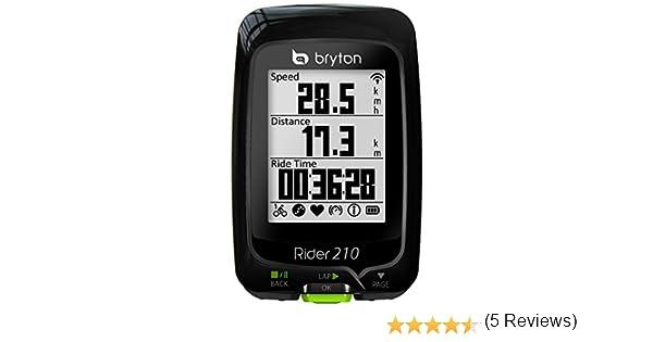 Bryton Rider 210 E - Ciclomputador GPS: Amazon.es: Electrónica