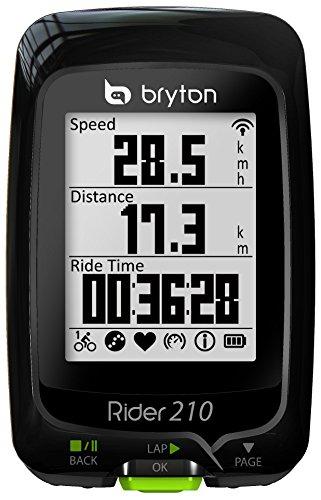 2 opinioni per Bryton Rider 210E GPS, Nero