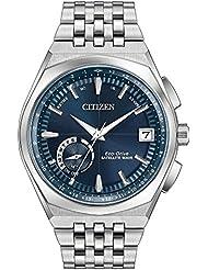 Mens Citizen Eco-Drive Satellite Wave World Time GPS Watch CC3020-57L