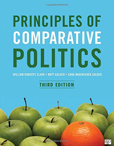 Principles of Comparative Politics Third Edition cover
