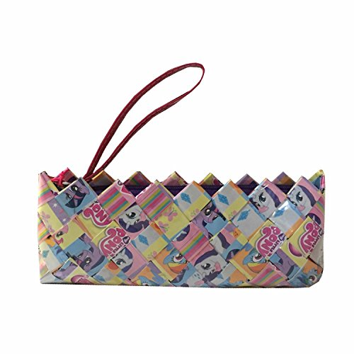 (Candy Clutch Recycled Comic Page Wristlet - My Little Pony)