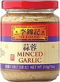Lee Kum Kee Minced Garlic Glass Bottle,7.5 Ounce (Pack of 12)
