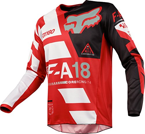 Fox Racing 180 Sayak Red Jersey/ Pant Youth Combo - Size Y-XLARGE/ 28W by Fox Racing MX (Image #1)'