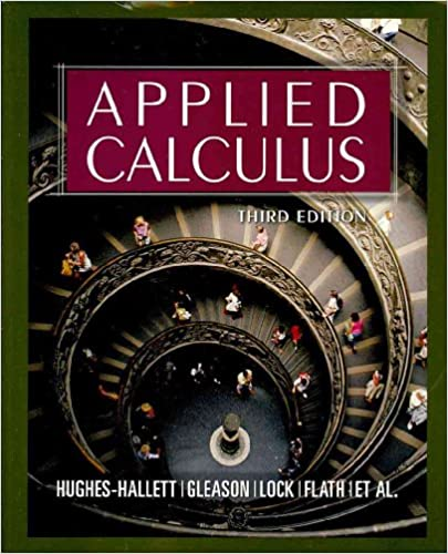 Applied Calculus, Textbook and Student Solutions Manual