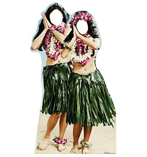 Hawaiian Hula Girls Stand-In - Advanced Graphics Life Size Cardboard Standup