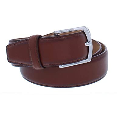 97b77f00914 Cole Haan Mens Leather Solid Dress Belt Brown 34 at Amazon Men s ...