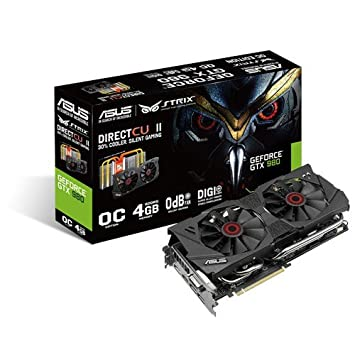 Amazon.com: ASUS strix-gtx980-dc2oc-4gd5 NVIDIA GeForce GTX ...