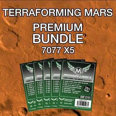 Terrafroming Mars - Premium Card Sleeve Bundle