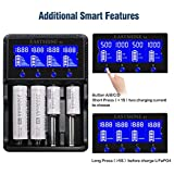 Universal Smart Battery Charger 4 Bay for