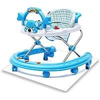 YOUDALIS Multifuncional Anti-vuelco beb/é Andador 6//7-18 Meses con m/úsica Andador Color : Blue
