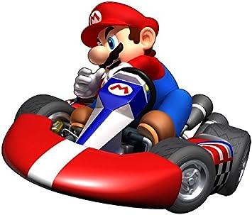 Mario Kart Aufkleber Wandtattoo f/ür Kinder