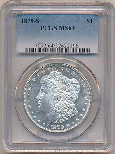 1879 S Morgan Dollar Dollar MS64 PCGS