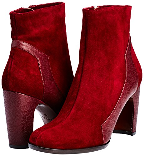 Mihara Rojo Red Jansen Chie Jean Actor Granate Botines Grape Mujer nIdRqd