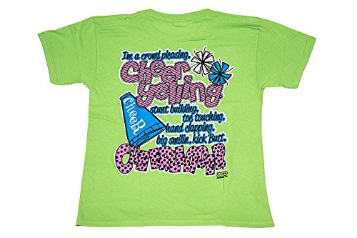 Kick But Cheerleader - All Star Outfitters Cheerleading Apparel - Youth Large