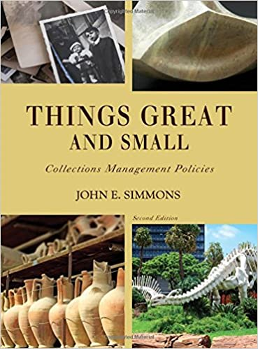 Things Great And Small Collections Management Policies American