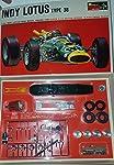 Monogram Model Racing Indy Lotus Type 38 1/24 Scale SR2419 900 by Monogram