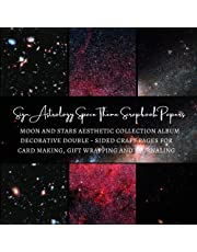 Sign Astrology Space Theme Scrapbook Papers | Moon and Stars Aesthetic Collection Album | Decorative double - sided Craft Pages for Card making, Gift Wrapping and Journaling: Premium Scrapbooking Sheets