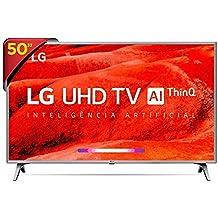 """Tv Led 50"""" Smart 4K LG 50UM7500 - Wi-Fi, Smart WebOS, Inteligência Artificial, HDR, HDMI e USB Unica , em breve com Alexa Integrada"""