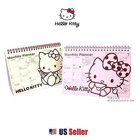 Amazon.com: Sanrio Hello Kitty Mensual, Programa semanal ...