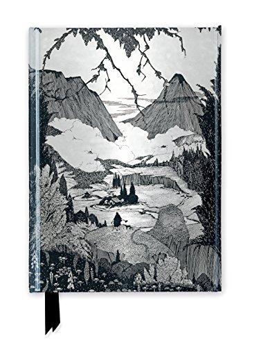 Harry Clarke: Mountainous Landscape (Foiled Journal) (Flame Tree Notebooks)