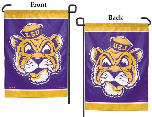 LSU Tigers Official NCAA 11 inch x 15 inch Garden Flag by