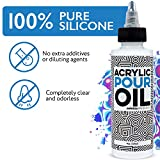 Acrylic Pouring Oil - 100% Silicone - Ideal