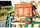 16 Inch Genuine Leather Handmade Vintage Rustic