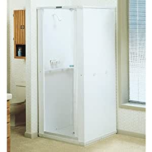 Mustee 140 36-in x 36-in Shower Stall