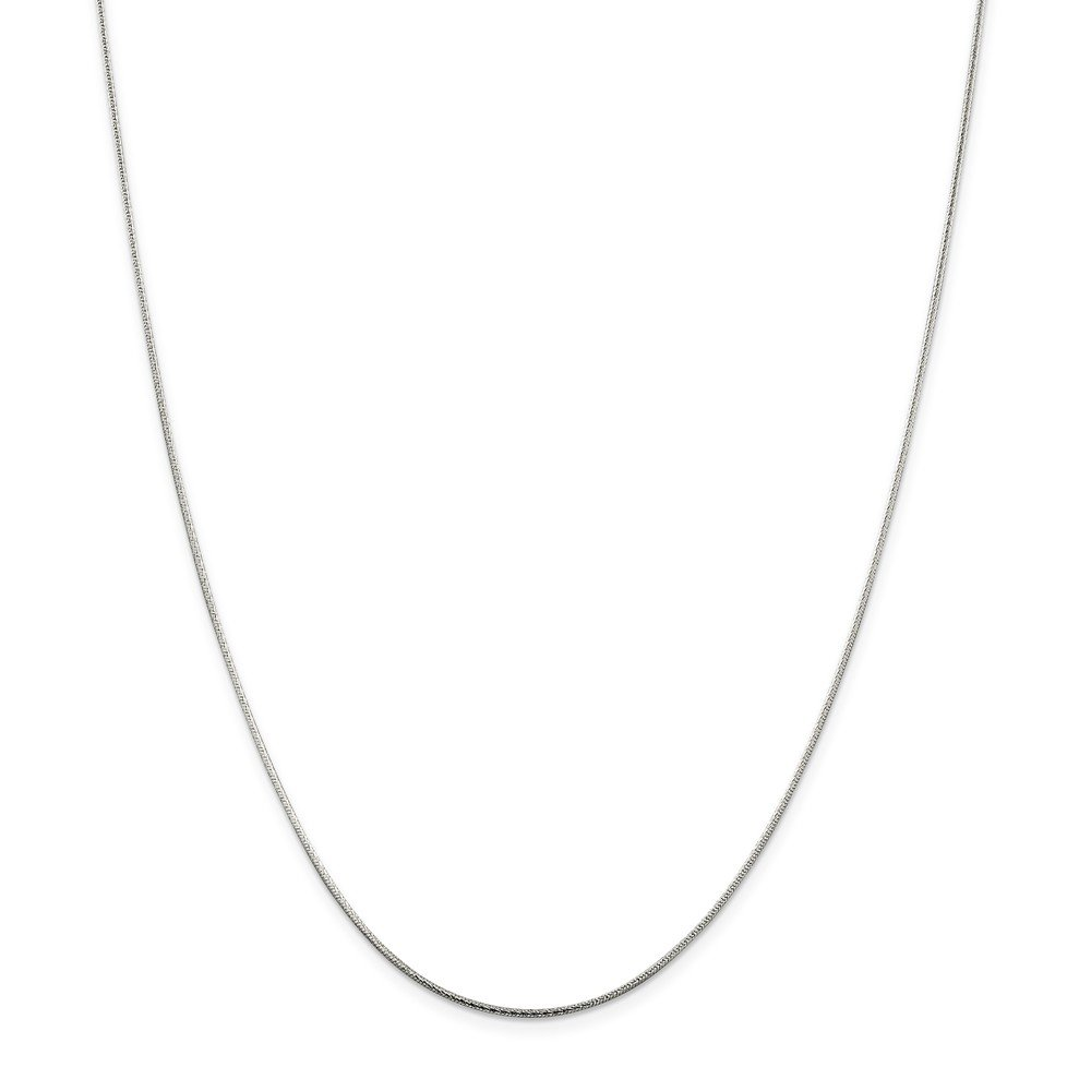 925 Sterling Silver 1.25mm Round Snake Chain Necklace 24 Inch Pendant Charm Fine Jewelry For Women Gift Set
