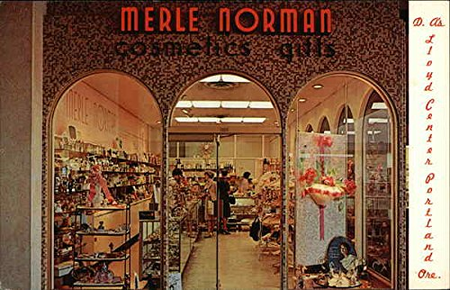 Merle Norman Cosmetics & Gifts - D. A's Lloyd Center Portland, Oregon Original Vintage - Lloyd Center Portland