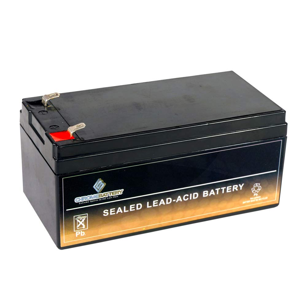 Chrome Battery 12V 3.2AH Sealed Lead Acid (SLA) Battery for BP3-12 ES3-12 PS-1230 PW1203