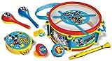 Instrumentos Musicales Best Deals - Disney Tambor con Instrumentos Mickey Mouse Club House